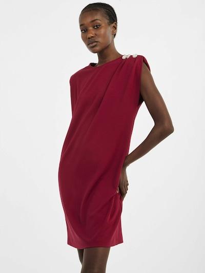 NAF NAF Kleid 'Djobou' in bordeaux, Modelansicht