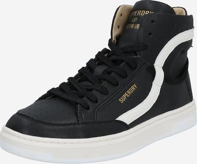 Sportiniai batai 'Basket Lux Trainer' iš Superdry , spalva - juoda / balta, Prekių apžvalga