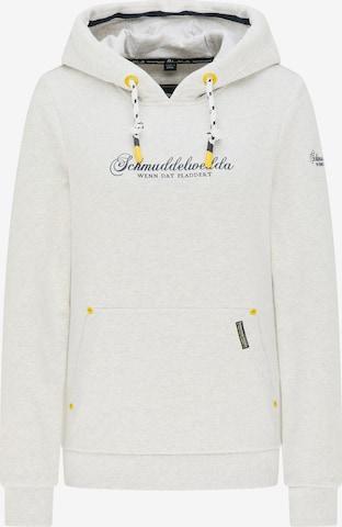 Schmuddelwedda Sweatshirt in White