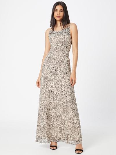 Skirt & Stiletto Kleid 'Delora' in creme / rostbraun / schwarz, Modelansicht