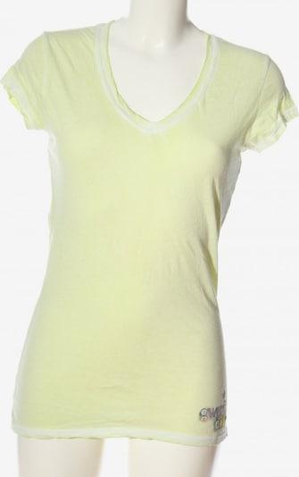 gwynedds V-Ausschnitt-Shirt in S in pastellgelb, Produktansicht