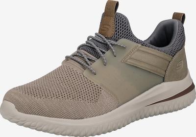 SKECHERS Sneaker in beige / braun / grau / taupe, Produktansicht