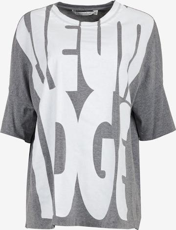 HELMIDGE Oversized Shirt in Grey