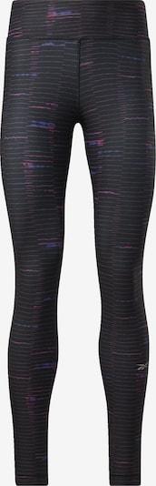 REEBOK Sportbroek 'Running Lux Bold' in de kleur Blauw / Pink / Zwart, Productweergave