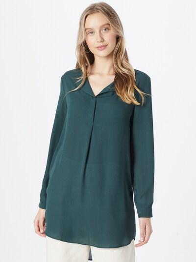 VILA Bluse in dunkelgrün, Modelansicht