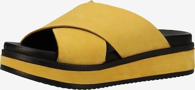 SHABBIES AMSTERDAM Muiltjes in de kleur Geel / Zwart, Productweergave
