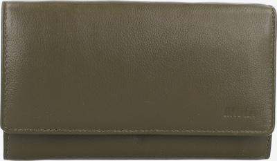 MIKA Geldbörse in dunkelgrün, Produktansicht