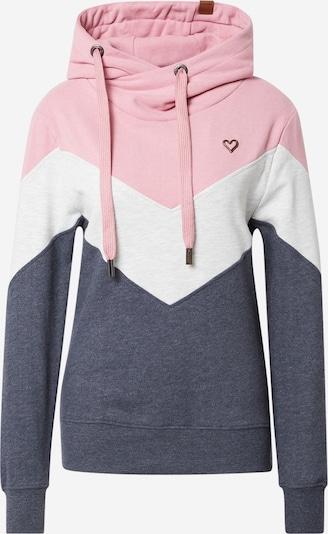 Alife and Kickin Sweat-shirt 'Stella' en marine / gris clair / rose pastel, Vue avec produit