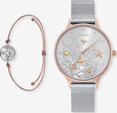 Engelsrufer Uhr in silber, Produktansicht