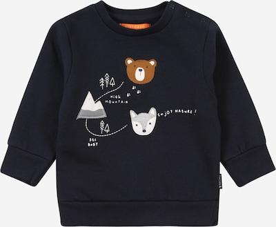 STACCATO Sweatshirt in blau / ocker / grau / weiß, Produktansicht
