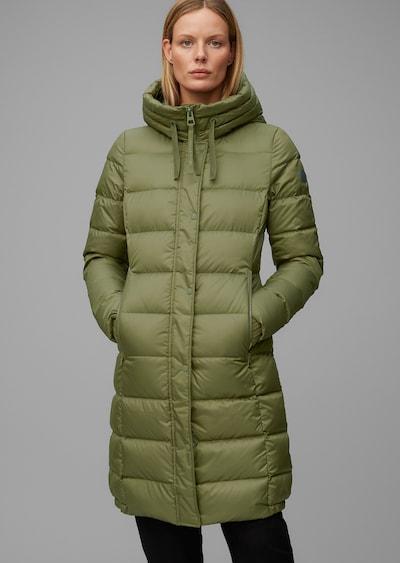 Marc O'Polo Wintermantel in de kleur Kaki, Modelweergave