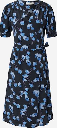 Rochie tip bluză La petite étoile pe albastru marin / albastru fumuriu / lila, Vizualizare produs