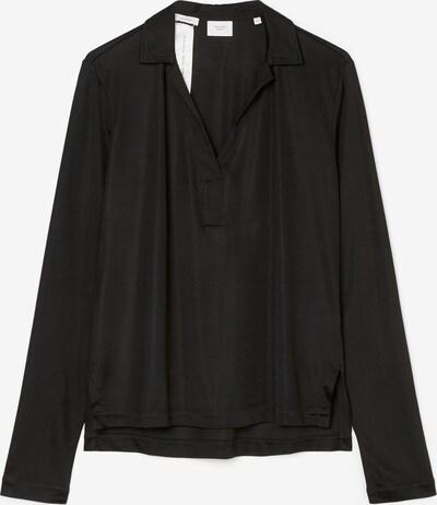 Marc O'Polo Pure Jersey-Shirt aus Interlock-Qualität in schwarz, Produktansicht