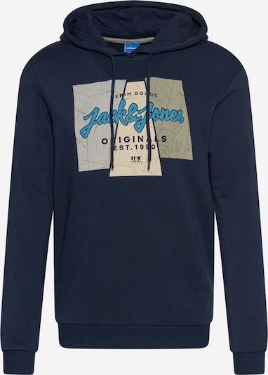 JACK & JONES Sudadera 'LOGON' en navy / mezcla de colores, Vista del producto