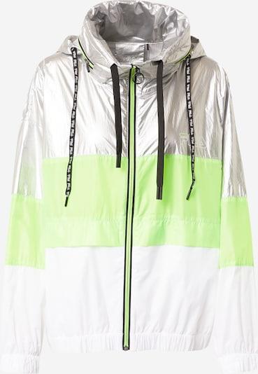 FILA Športová bunda 'AUGUSTA' - zelená / strieborná / biela, Produkt