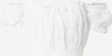NA-KD Top 'Nina Houston' in Weiß
