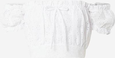 NA-KD Top 'Nina Houston' in weiß, Produktansicht
