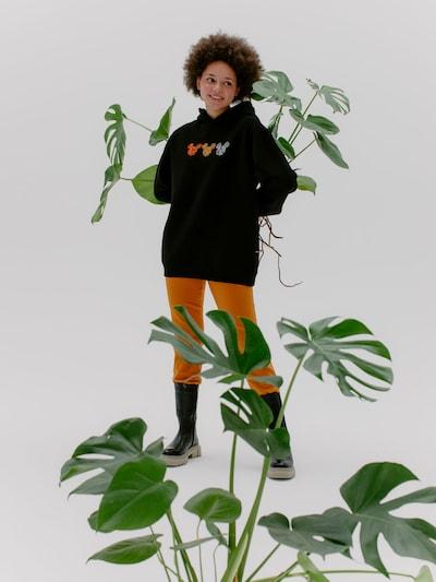 ABOUT YOU x Disney Sweatshirt 'Fine' in schwarz: Frontalansicht