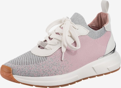 LA STRADA Sneaker in grau / rosa / silber / weiß, Produktansicht