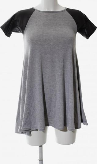 Club L Jerseykleid in S in hellgrau / schwarz, Produktansicht