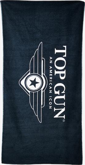 TOP GUN Handdoek in de kleur Grijs, Productweergave