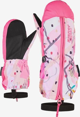 ZIENER Skihandschuhe 'LANGELO AS(R) MINIS glove' in Pink
