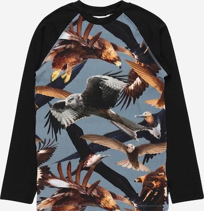 Molo Shirt 'Remington' in de kleur Smoky blue / Gemengde kleuren / Zwart, Productweergave