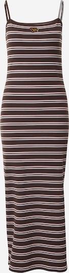 Nike Sportswear Robe d'été en azur / brun foncé / rose, Vue avec produit