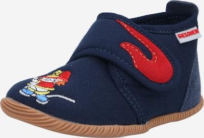 GIESSWEIN Zapatillas de casa 'Serfaus' en navy / mezcla de colores, Vista del producto