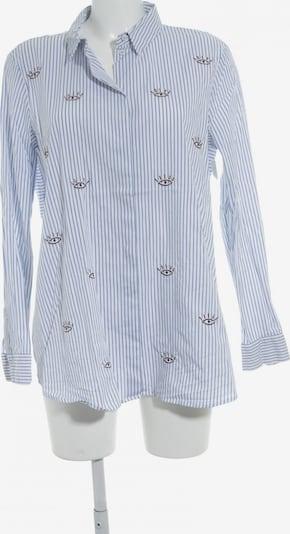 talkabout Langarm-Bluse in XL in blau / weiß, Produktansicht