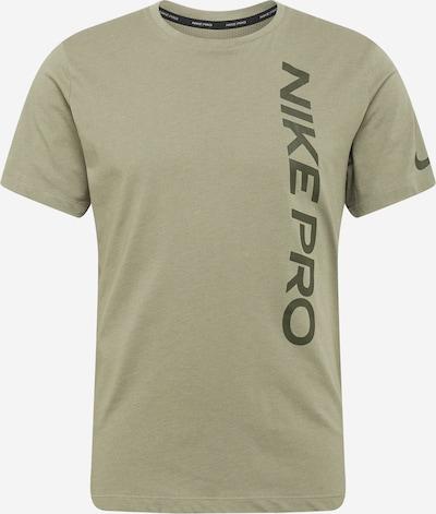 NIKE T-Shirt in khaki / tanne, Produktansicht