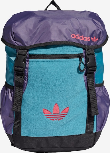 ADIDAS ORIGINALS Rucksack in hellblau / lila / rosa, Produktansicht
