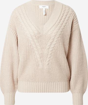 OBJECT Pullover 'Birgitha' in Beige