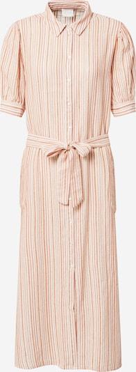 VILA Kleid 'VIGGA' in orange / weiß, Produktansicht