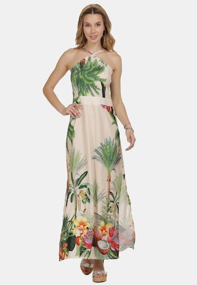 IZIA Sommerkleid in creme / mischfarben, Modelansicht