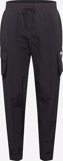 Mennace Cargo hlače u crna: Prednji pogled