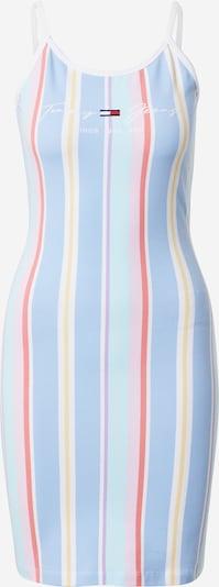 Tommy Jeans Robe d'été en bleu clair / mélange de couleurs, Vue avec produit