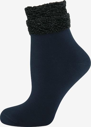 ELBEO Chaussettes ' 3-Pack Glamour Dream ' en bleu, Vue avec produit