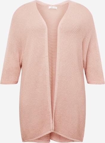 Z-One Strickjacke 'Alis' in Pink