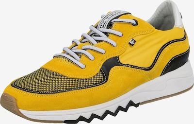 Floris van Bommel Sneaker  'Nineti' in gelb / schwarz, Produktansicht