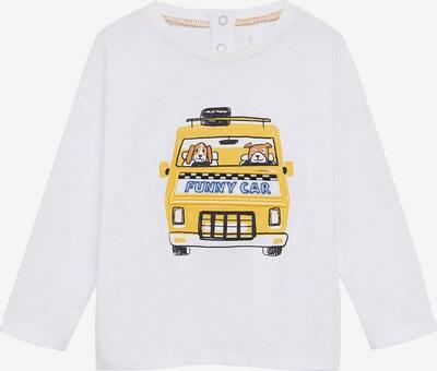 MANGO KIDS Shirt 'BLAI' in gelb / schwarz / weiß, Produktansicht