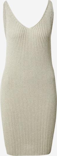 NU-IN Robes en maille en beige chiné, Vue avec produit