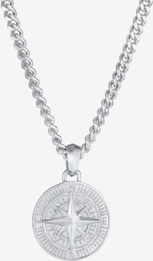 KUZZOI Halskette Kompass in silber, Produktansicht