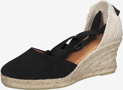 SANSIBAR Sandalen in schwarz / weiß, Produktansicht
