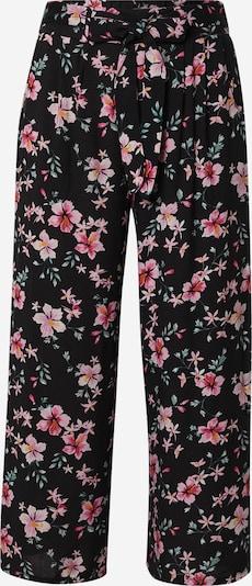 Hailys Kalhoty se sklady v pase 'Cira' - zelená / pink / černá / bílá, Produkt