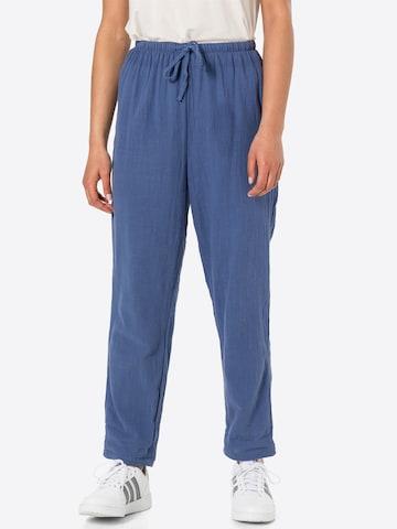 Cotton On Plissert bukse 'CALI' i blå