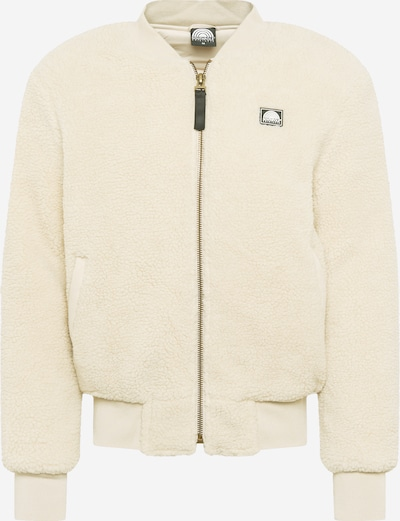 SOUTHPOLE Jacke 'Sherpa' in beige / weiß, Produktansicht