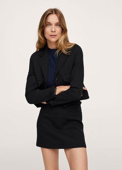 MANGO Blazer 'danna' in schwarz, Modelansicht