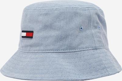 Tommy Jeans Шапка с периферия в светлосиньо / тъмносиньо / червено / бяло, Преглед на продукта