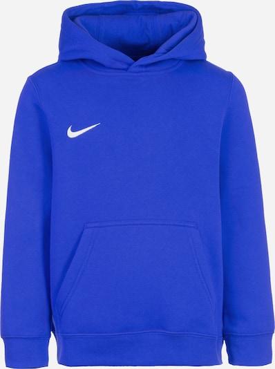 NIKE Sportsweatshirt 'Club 19' in blau / weiß, Produktansicht